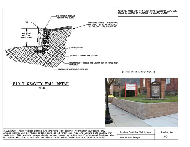 How To Everloc Retaining Walls E Dillon Company