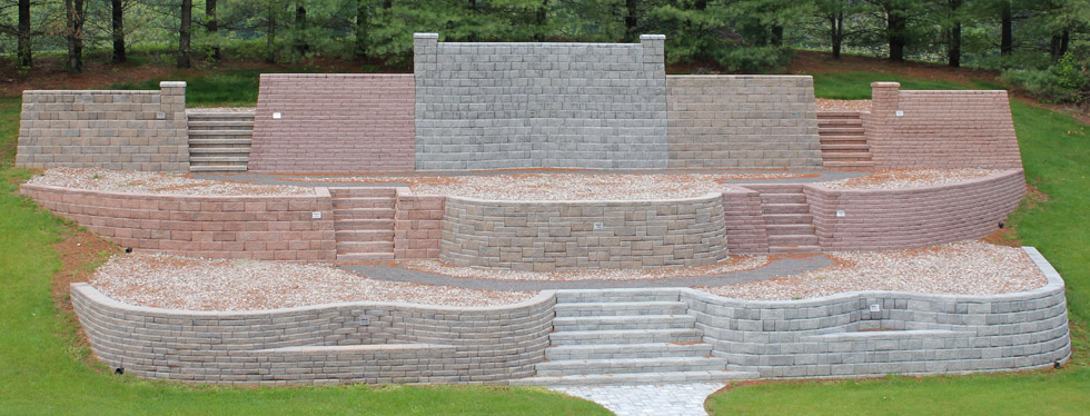 Landscape Block Wall Systems : Everloc? retaining walls e dillon company